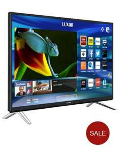 Luxor 50 inch Freeview Play HD, LED, WiFI, Smart 4K TV £349.99 @ Very.co.uk