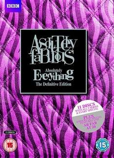 Absolutely Fabulous - Absolutely Everything Definitive Edition 11 Disc DVD Boxset Pre-Owned £12.50 includes £2.50 postage for Home Delivery which covers up to 10 items per order @ CEX on-line (availability in-store shown on item page)