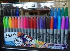 Sharpie Marker Pens Limited Edition 30 pack - £6 instore @ Tesco