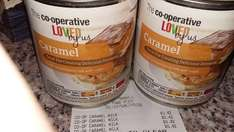 Co-operative Caramel  reduced to 42p a 397g tin (Carnation brand usually £2.30!)
