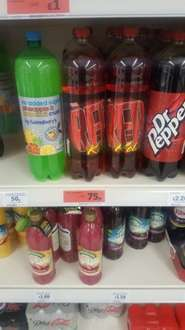Barrs Red Kola reduced in Sainsburys - 75p