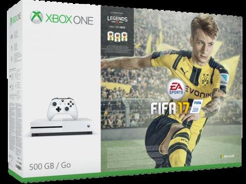 Xbox One S Console 500GB + Fifa 17 £214.85 @ Shopto