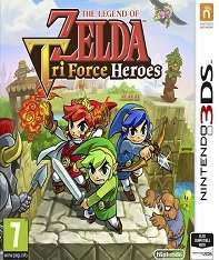 The Legend Of Zelda Tri Force Heroes (3DS) (Pre Owned) - £12.89 Boomerang Rentals