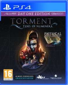 Torment: Tides of Numenera - Pre-order for (PC = £31.99 physical or £21.99 at CDKeys for digital) PS4 / Xbox One £36.99 @ 365Games