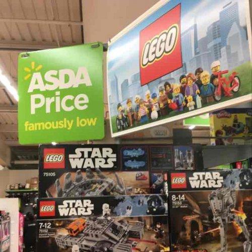 Lego 75105 -Millennium Falcon £79 Asda In store