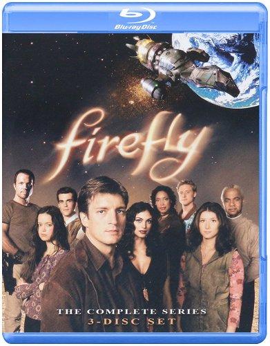 Firefly Complete Season blu-ray US Import £5.99 for prime / £7.98 non prime @ Amazon