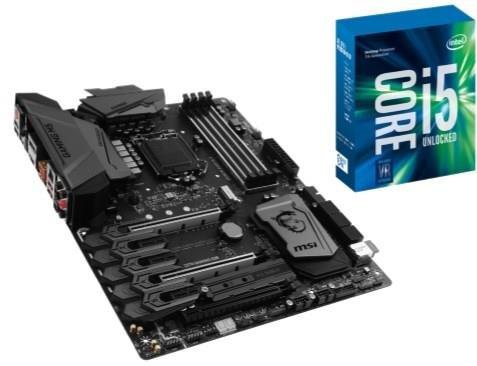 MSI Z270 GAMING M5 + I5 7600K 3.8Ghz Bundle Deal!MSI Z270 Gaming M5 Motherboard + Intel I5 7600K CPU! plus 256SSD @ box.co.uk £399.99 incl del