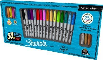 Sharpie 23 pen set £2.99 @ Morrisons - Lowestoft