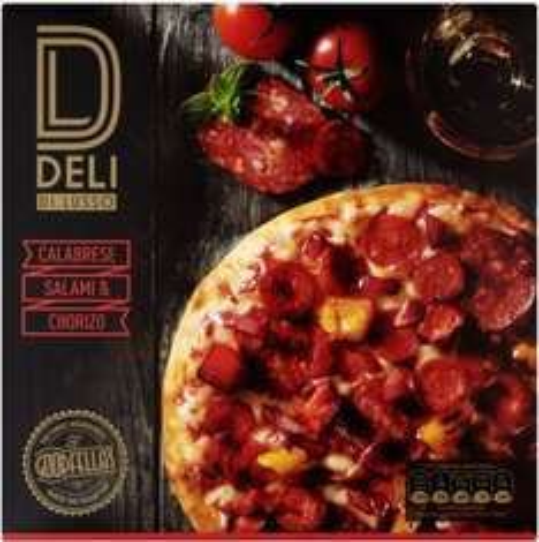 Goodfella's Deli Calabrese, Salami & Chorizo Pizza (383g) was £2.50 now £1.50 @ Sainsbury's