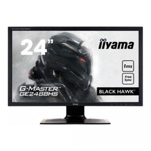 "iiyama 24"" G-Master Black Hawk 1ms Gaming Monitor £116.99 / £121.78 collect from local shops del @ Scan"