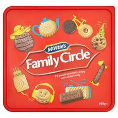 mcvitie's family circle 950 g in store as well £3 @ Iceland