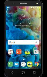 Alcatel Pop 4 Black - £7.50 A Month - iD Mobile £0 Upfront cost