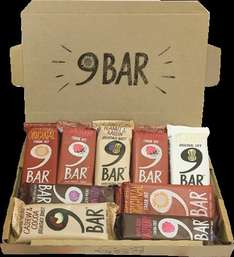 9Bar Nutrition Bars x9 pack + free delivery - £2.50 @ 9bar