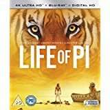Amazon Market place - Life of Pi [4K Ultra HD Blu-ray + Digital Copy + UV Copy] [2013]