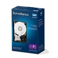 WD Purple 2TB Surveillance Hard Disk Drive (Lightning Deal) - £63.91 - amazon.co.uk