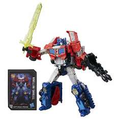 Transformers Generations Titans Return Voyager Class Figure - Diac & Optimus Prime - £14.99 (+£2.99 delivery if order <£30) @ Toys R Us