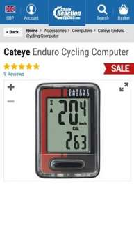 Cateye Enduro Cycling Computer | Chain Reaction Cycles £12.74