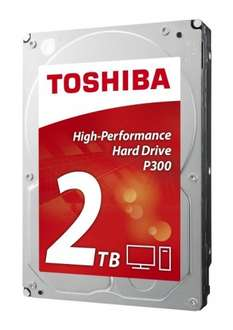Toshiba P300 High Performance 2TB Internal Hard Drive £52.99 with code @ Amazon