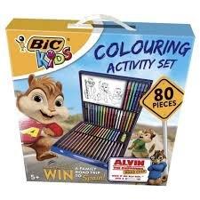 80 piece bic colouring set £8.00 @ tesco
