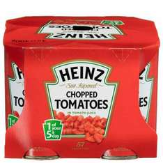 4 ×400g chopped tomatoes £1.20 @ b&m