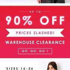Yours Clothing up to 90% off - stock from £1 go go go
