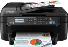 Epson WorkForce WF-2750DWF PrecisionCore Colour All-in-One Printer with Duplex Wi-Fi and Air Print £49.99 using code plus £15 cashback @ amazon