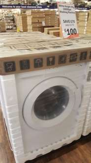 White knight 5kg 1000rpm washing machine £100 instore @ The Range clearance store (Exeter)