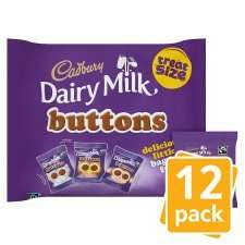 Cadbury Dairy Milk Treat Size Buttons 12 Pack now 50p at Morrisons instore