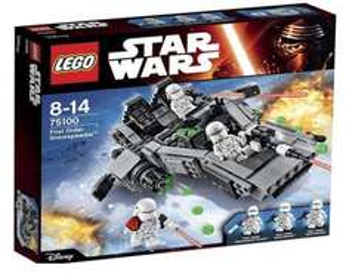 Cheap Lego instore Asda eg First Order Snowspeeder 75100 £17.70 @ Asda instore
