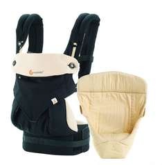 Ergobaby baby carrier collection 360 -bundle of joy- (3.2 - 15 kg), Black/Camel - Amazon - £115.16