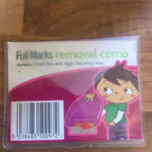 Full Marks Headlice Removal Comb @ Poundland - £1