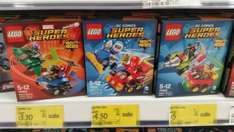 lego super heroes sets from £3.30 76064 76063 76062 instore at Asda