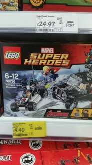 lego marvel super hero's 76030 was £19.97 now £9.40 Asda instore