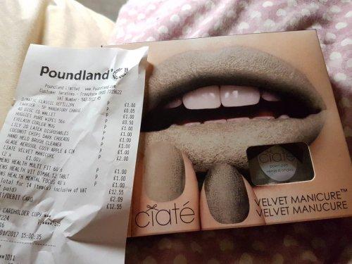 Ciate Velvet Manicure Kit Poundland!