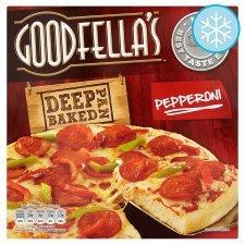 Goodfella's Deep Pan Baked Pepperoni/Deliciously Cheesy Pizzas - £1.25 @ Tesco