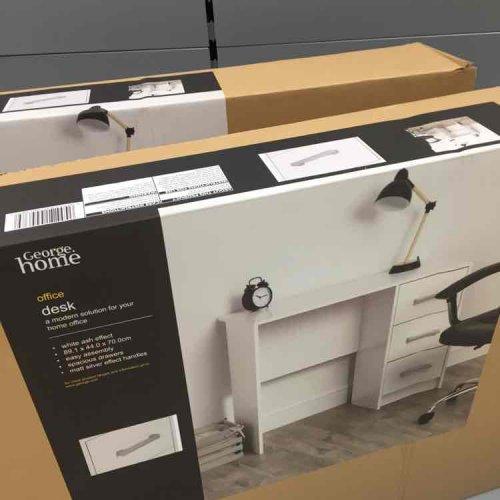 Asda Office Desk White £10 instore