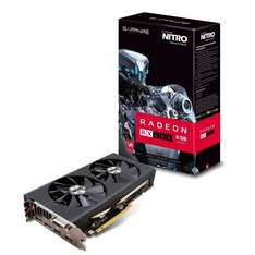 Sapphire AMD RX480 Nitro+ 8 GB GDDR5 Memory Polaris FinFET DX 12 Vulkan FreeSync PCI-Express Graphics Card @ Amazon £237.92