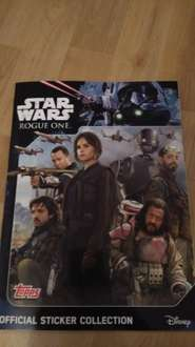 Star Wars Rogue One - Sticker Album free at Tescos