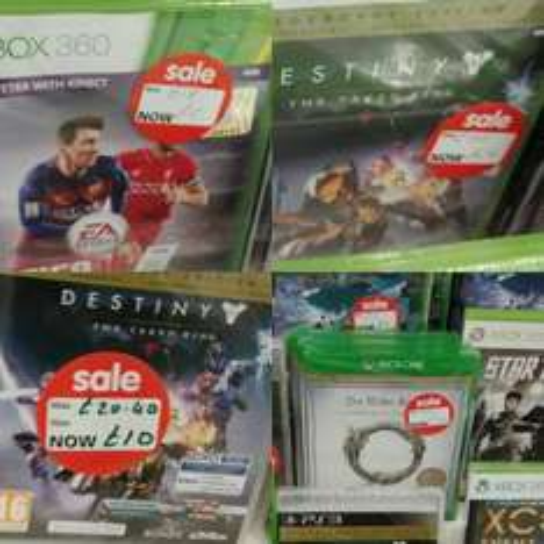 Reduced Games ASDA Wolverhampton instore