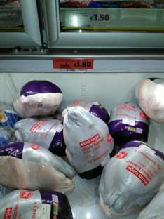 Extra Large Whole Turkeys only £1.80 each @ Sainsburys Harrogate