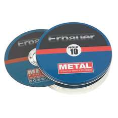 Erbauer Metal Cutting Discs 115mm Pack of 10 was £9.99 now £5.99 C+C @ Screwfix