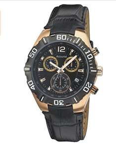 Accurist ms837b gold/black chronograph with leather strap £29.02 Delivered @ amazon
