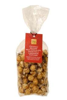WHITE CHOCOLATE & COCONUT POPCORN was £3.50 - 50p @ M&S instore