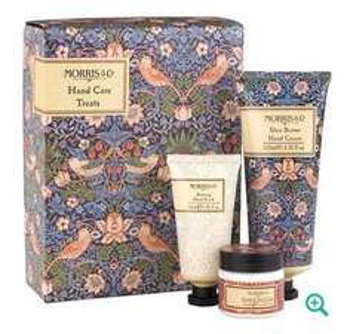 Heathcote & Ivory 'Morris & Co. Strawberry Thief' hand care treats gift set  for £7.50 was £15 - £2 c&c @ Debenhams
