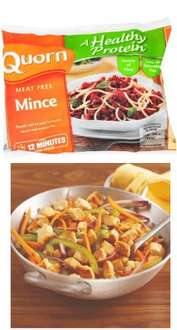 300g Quorn Mince/Chicken pieces £0.79 @ Farmfoods