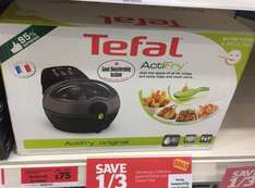 Tefal Actifry reduced from £150 to £75 @ Sainsbury's