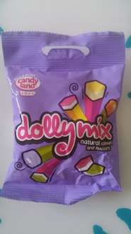 candy land dolly mix 38g bag 5p poundstretcher