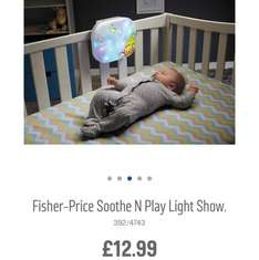Fisher-price smooth and play light - less than half price £12.99 Argos