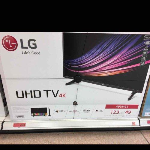 """LG 49"""" 4K TV for £420 (Instore) Sainsbury's"""