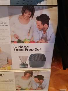 3 piece food prepe service was £10 scanned at £3.00 instore @ Morrisons